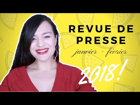 REVUE DE PRESSE COUTURE janvier - février 2018