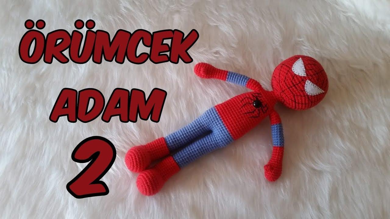 Amigurumi Örümcek Adam 2 (Kafa )