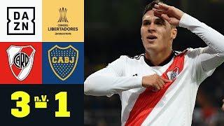 Irre Verlängerung! River holt den Titel: River Plate - Boca Juniors 3:1 | Copa Libertadores | DAZN