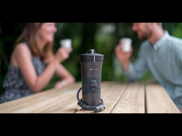 Handcoffee 211-30 Auto mobile 12 Volt Kaffeepadmaschine