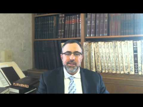 Video Vort - Vayera 5776 - Rabbi Ean Tokayer