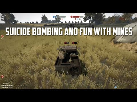 Heroes & Generals Suicide Bombing and Fun with Mines!