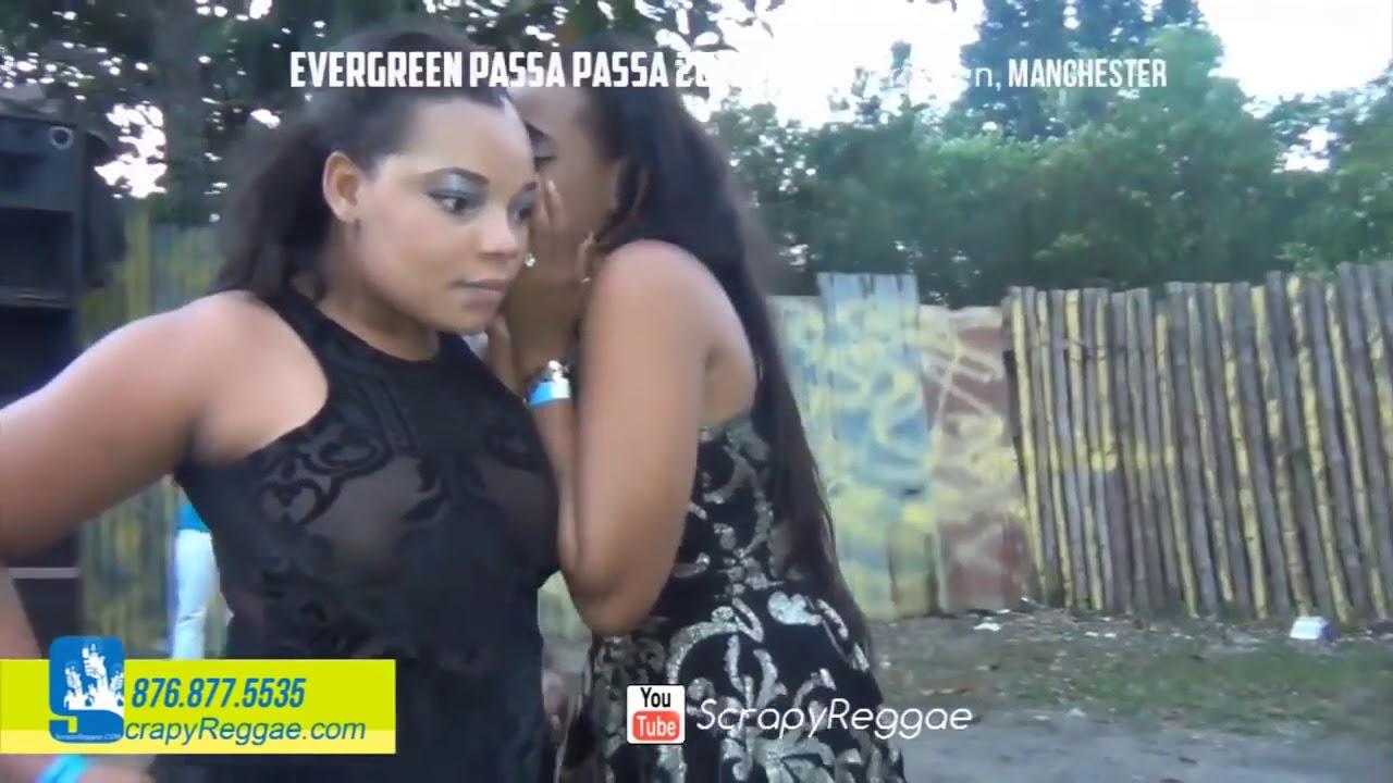 Sexy black teen cameltoe pussy