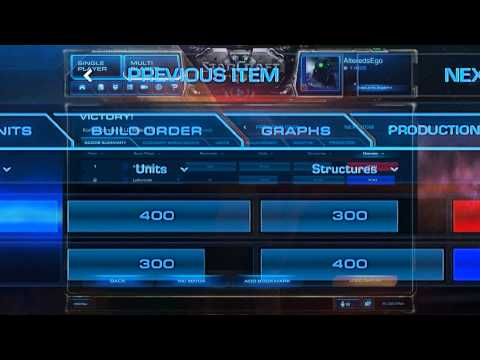 Proposed Design Changes To StarCraft 2's Replay And Match History Interface