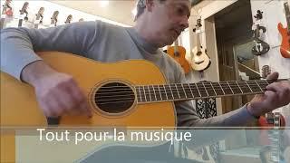 Guitare Yamaha FG-TA (TransAcoustic) Purpl Rain