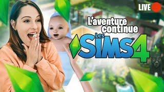 🔴 Live -  Je continue de draguer Valouzz sur les SIMS pour avoir un bébé 👶  #4