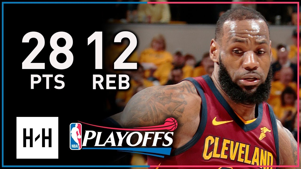 best loved 3795f be5ca LeBron James Full Game 3 Highlights Cavs vs Pacers 2018 Playoffs - 28  Points, 12 Reb, 8 Assists!