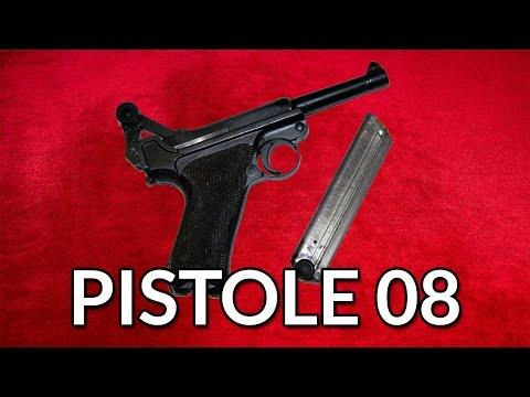 Luger Pistole 08 - gebaut von Mauser - geschossen von mir - Let