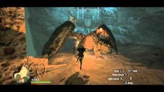 Magic Archer vs the Fallen City (full battle), PERFECT !