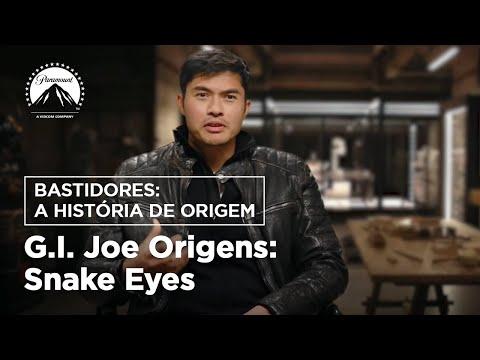 G.I. Joe Origens: Snake Eyes I Bastidores: A História de Origem   Paramount Pictures Brasil