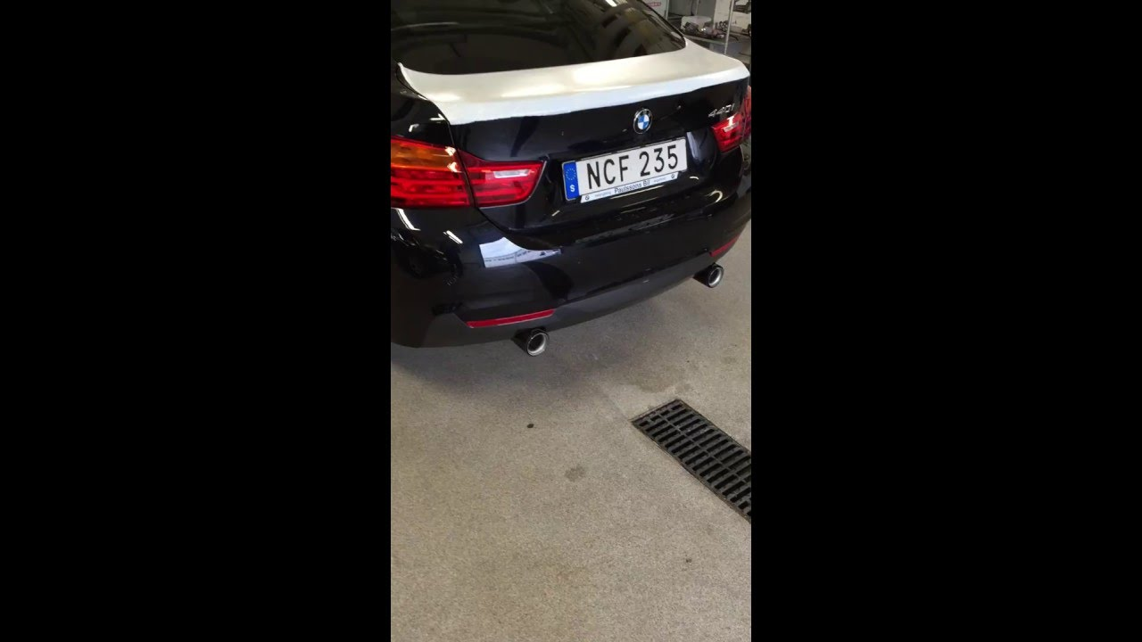 bmw m performance power and sound kit 440 gran coup youtube. Black Bedroom Furniture Sets. Home Design Ideas