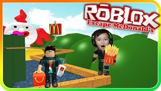 Escape McDonalds For Some Happy Meal In Roblox - TigerBox HD