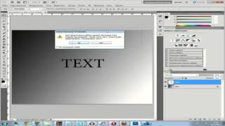 3D Текст, быстро и легко в Adobe Photoshop CS5   Видео урок