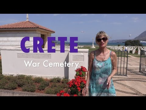 Crete - Souda Bay WWII cemetery - respecting so many who never returned and remain un-named