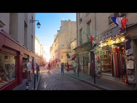 Walking Paris's Latin Quarter - Beautiful Café-lined Streets