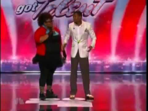 Nick Cannon Dancing on Americas Got Talent 2011