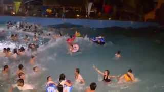 Tsunami Waves at Amana Water Park Resort 2014