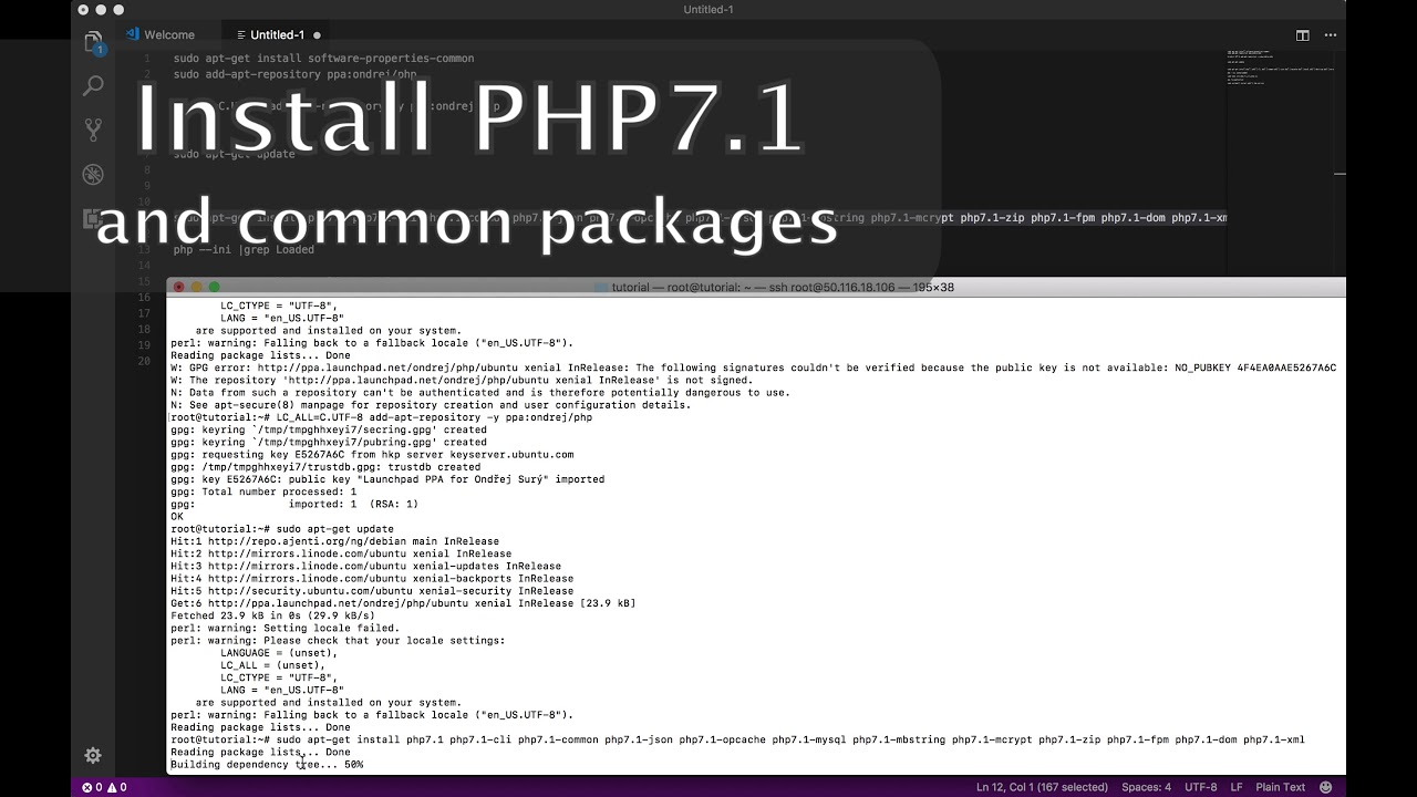 #03 - Install PHP 7.1 on Ubuntu 16.04