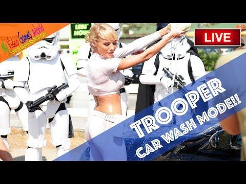 TROOPER CAR WASH MODE - STAR WARS BATTLEFRONT ii | LIVE | DIRECTO | MY VIDEO GAMES WORLD