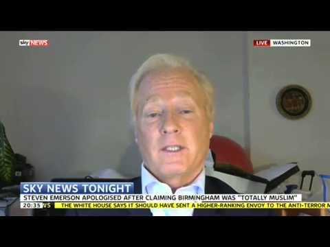Steven Emerson Says Hearing Muslim Birmingham Comments 'Like Waterboarding'