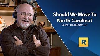 Should We Move to North Carolina?