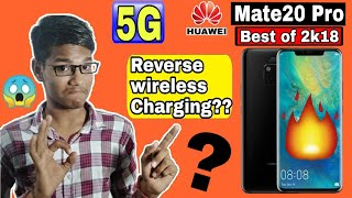 Huawei Mate20 Pro Hindi Reviews| Best Mobile of 2018| 1st 5G mobile?