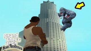 شاهد قتال سيجي ضد القرد العملاق في gta san andreas