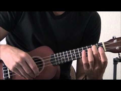How to Play the Crazy Train Riff on the Ukulele - Ukulele Riff Lesson