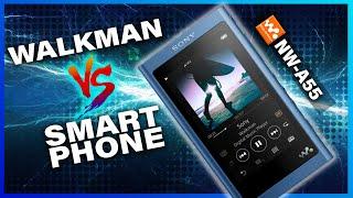 Sony Walkman Vs Smartphone | 5 Reasons to buy the Sony NW-A55 in 2020