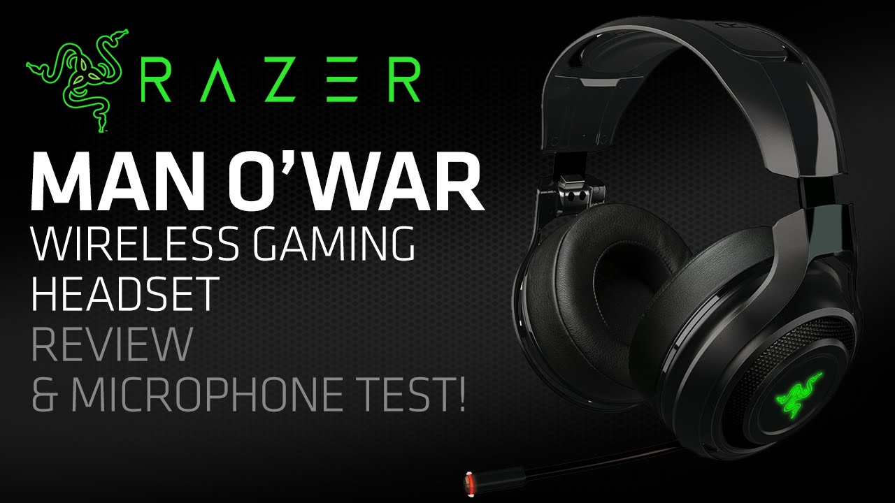 Razer Mano War Wireless Gaming Headset Review Microphone Test Youtube