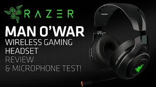 Razer ManO 39 War Wireless Gaming Headset Review amp Microphone Test