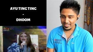Ayu Ting Ting - Dhoom Bollywood Song GTV 17 REACTION