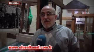 Gaziantep'te kutnu dokumacılığı