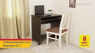 Обзор компьютерного стола «Фортуна 22.1» от «DaVita-мебель»