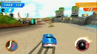 Hot Wheels Track Attack - Hot Wheels Speed Car Racing / Nintendo Wii Games / Gameplay Video #3