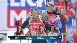 """Biathlon WM - """" Östersund 2019 """" -  Staffel Frauen"""