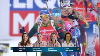 "Biathlon WM - "" Staffel Damen "" - Östersund 2019 / Relay Women"