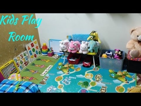 How To Organize Toy or Kids Room/Small play room ideas/Room Tour