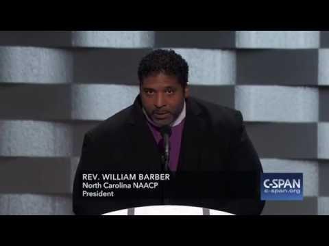 Rev. William Barber full speech at Democratic National Convention