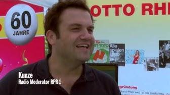 Lotto wird 60 Jahre alt und feierte auf dem Zentralplatz in Koblenz