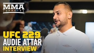 UFC 229: Audie Attar, Conor McGregor's Agent, On 'Record-Breaking' Deal, Bus Attack, Tony Ferguson