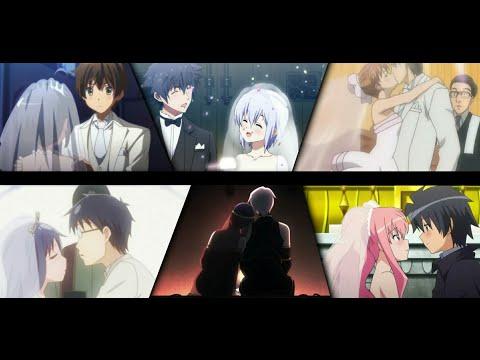 Tổng Hợp Kết Hôn Trong Anime ( Wedding In Anime )