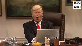 Alec Baldwin Gets $1,400 to Play Donald Trump On