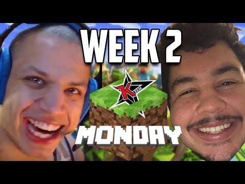 Tyler1 & Greek: Minecraft Monday VOD (WEEK 2)