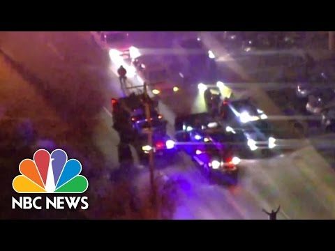 Ferguson Erupts In Protest Again: Police Crack Down | NBC News