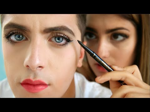 Girl Does Boy Makeup thumbnail