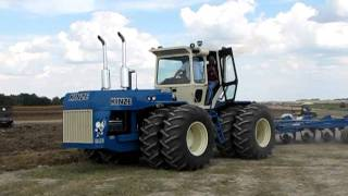 Big Blue Plowing, Century Of Progress 2011