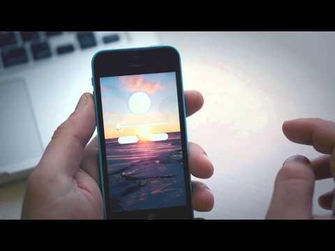 Обзор iOS-приложения Blur. Делаем обои для iOS 7