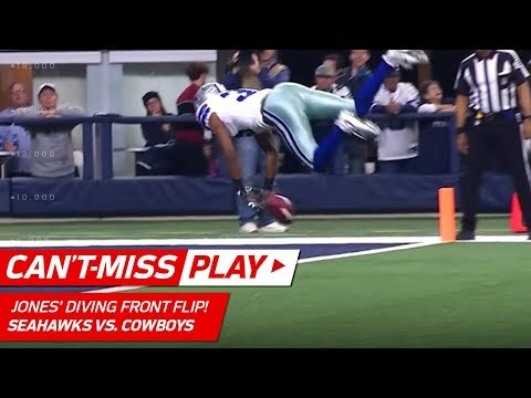 Byron Jones' Diving Front Flip to Pin Punt at the 1-Yd Line! | Can't-Miss Play | NFL Wk 16