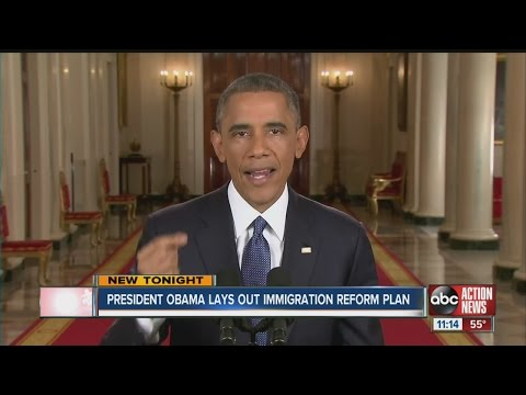 Obama lays out immigration reform plan